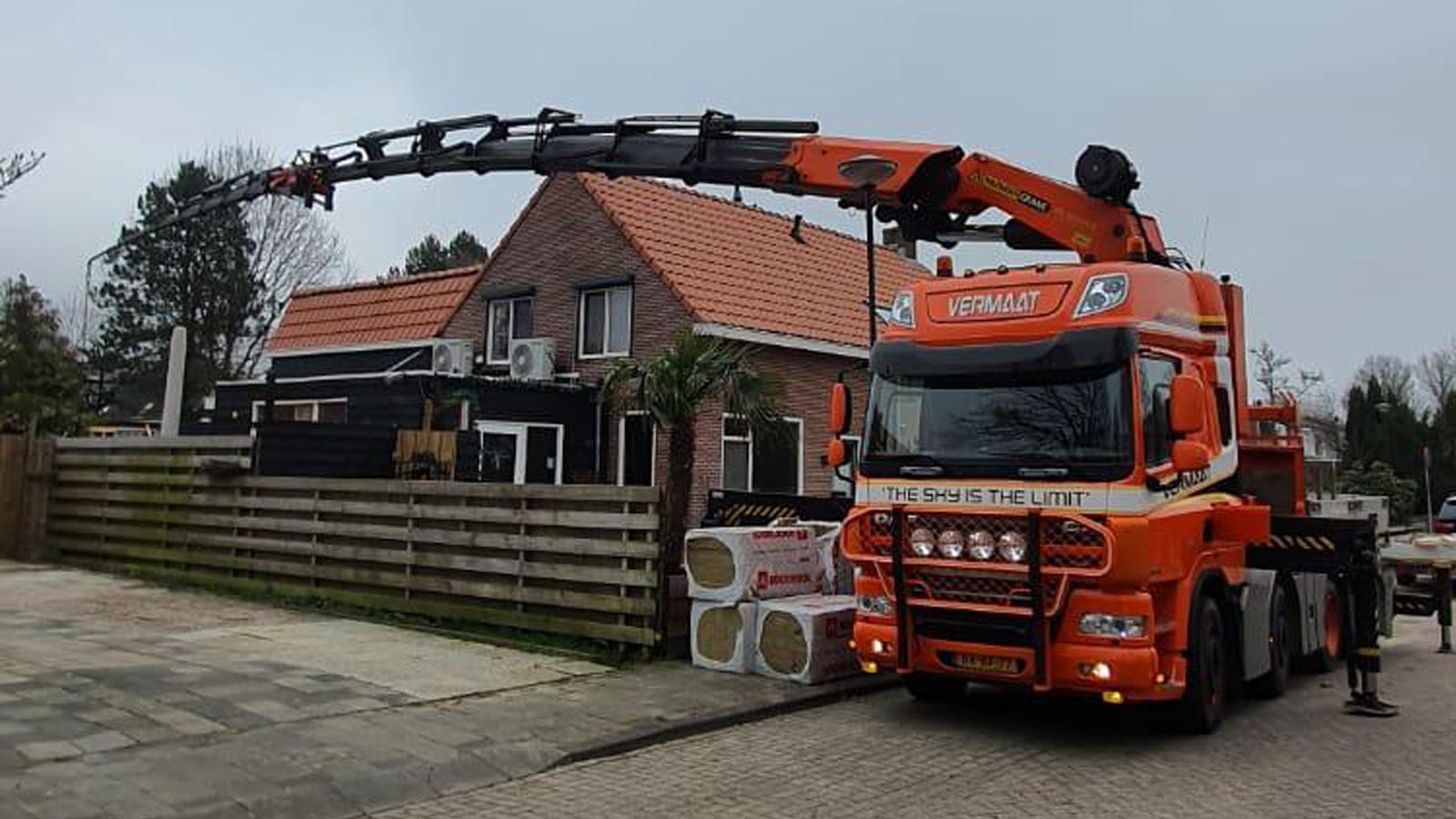 Vermaat Transport bouwbedrijf Holdorp
